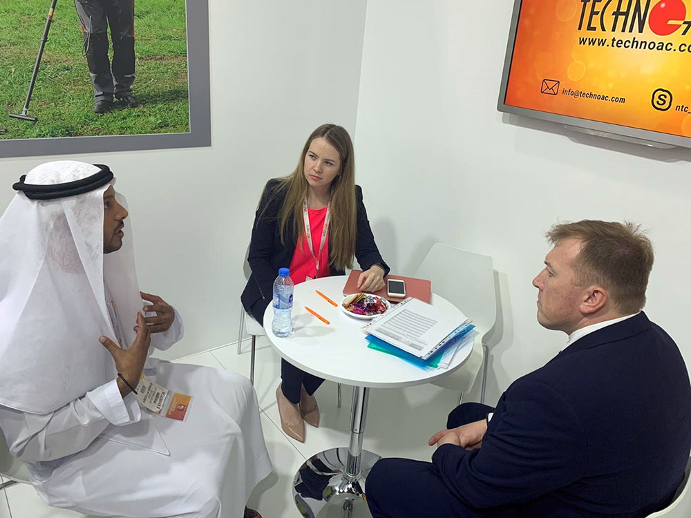 TECHNO-AC returned from MEE 2020 in Dubai