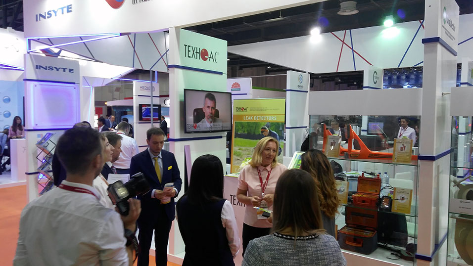 TECHNO-AC on Wetex 2018 show in Dubai, UAE