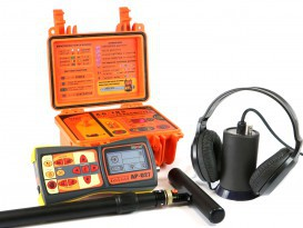 Water leak detector and cable (pipe) locator