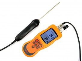 Two-channel data logging thermometer DT-527