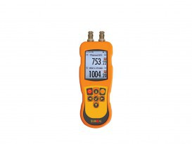 Two-channel data logging thermometer DT-529